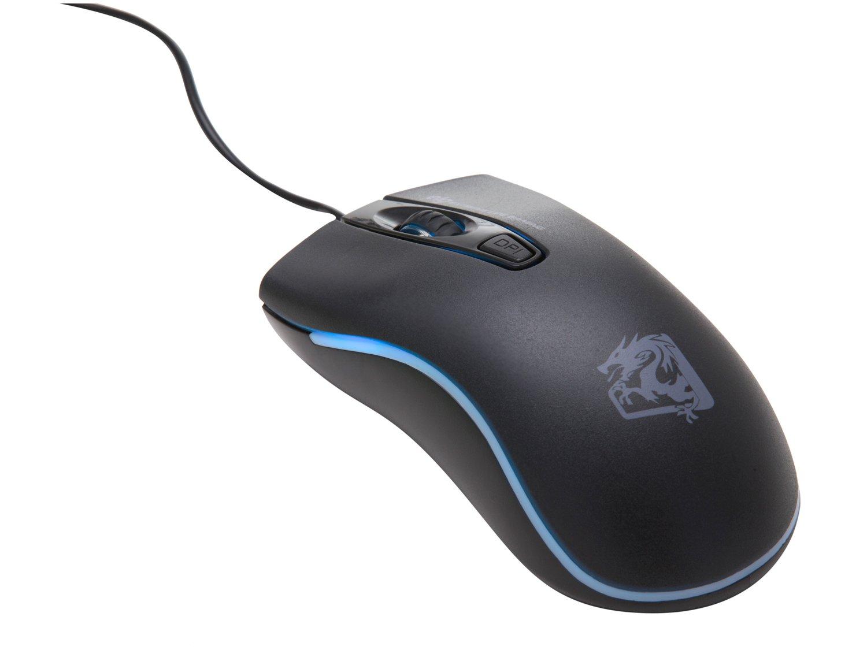 Mouse Gamer ELG Dragon War 2400 Dpi - Preto - 1