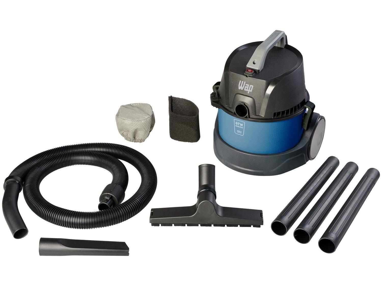 Aspirador de Pó e Água Wap 1400W - GTW Bagless Azul e Preto - 110 V - 1