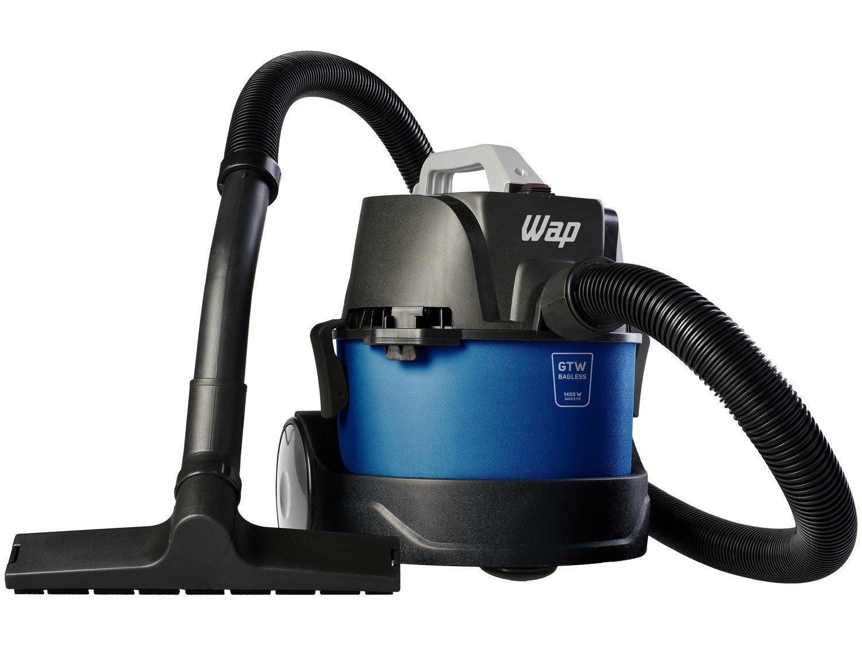 Aspirador de Pó e Água Wap 1400W - GTW Bagless Azul e Preto - 110 V - 2