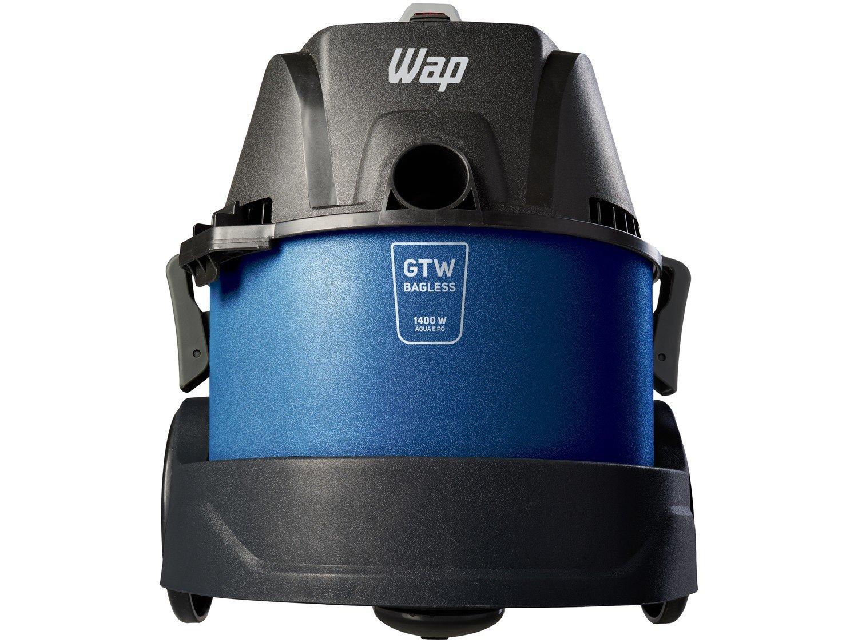 Aspirador de Pó e Água Wap 1400W - GTW Bagless Azul e Preto - 110 V - 3