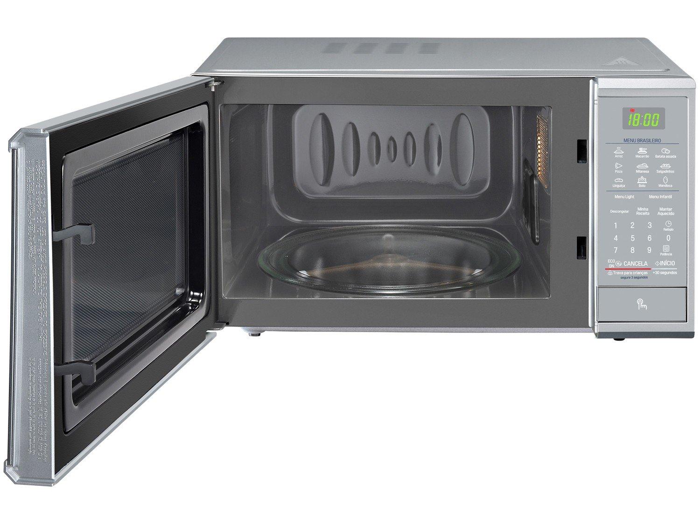 Forno de Micro-ondas LG MS3095LR com Revestimento EasyClean 30L - Prata - 220v - 7