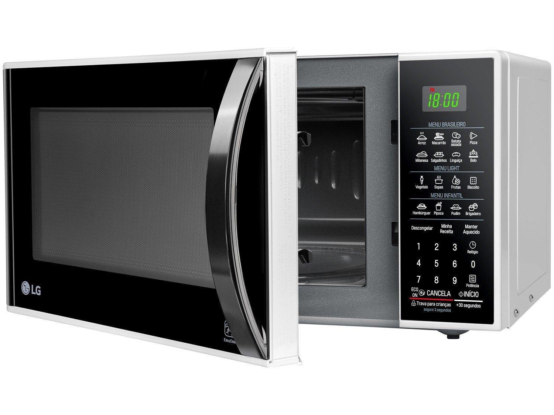 Forno de Micro-ondas LG MS3091BC com Função Eco On 30L - Branco - 220v - 16