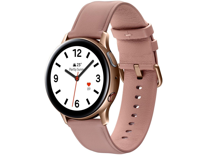 Smartwatch Samsung Galaxy Watch Active2 LTE - Rose 4GB - Bivolt