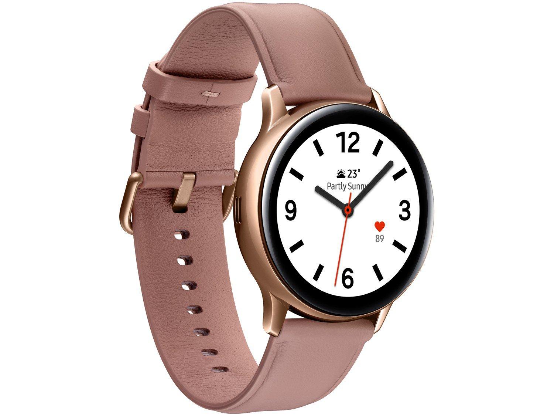 Smartwatch Samsung Galaxy Watch Active2 LTE - Rose 4GB - Bivolt - 3