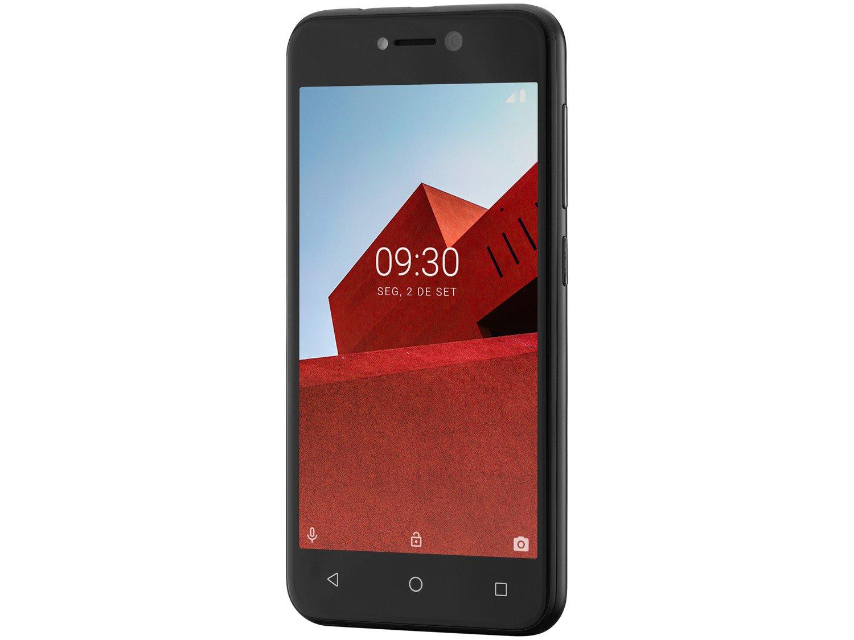 """Smartphone Multilaser E P9101 Preto com 16GB, Tela 5"""", Android Oreo, Dual Chip, Câmera 5MP, 3G, Bluetooth e Processador Quad core - 3"""