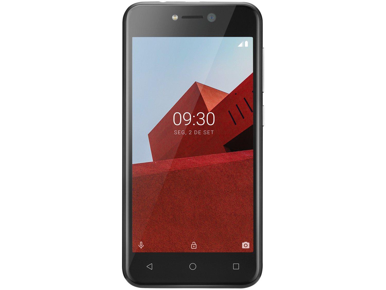 """Smartphone Multilaser E P9101 Preto com 16GB, Tela 5"""", Android Oreo, Dual Chip, Câmera 5MP, 3G, Bluetooth e Processador Quad core - 5"""