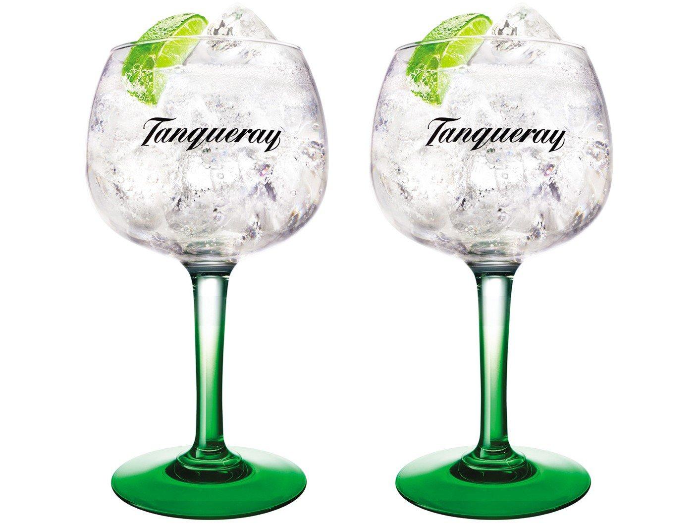 Jogo de Taças para Gin Vidro 600ml 2 Peças - Globimport Diageo Tanqueray