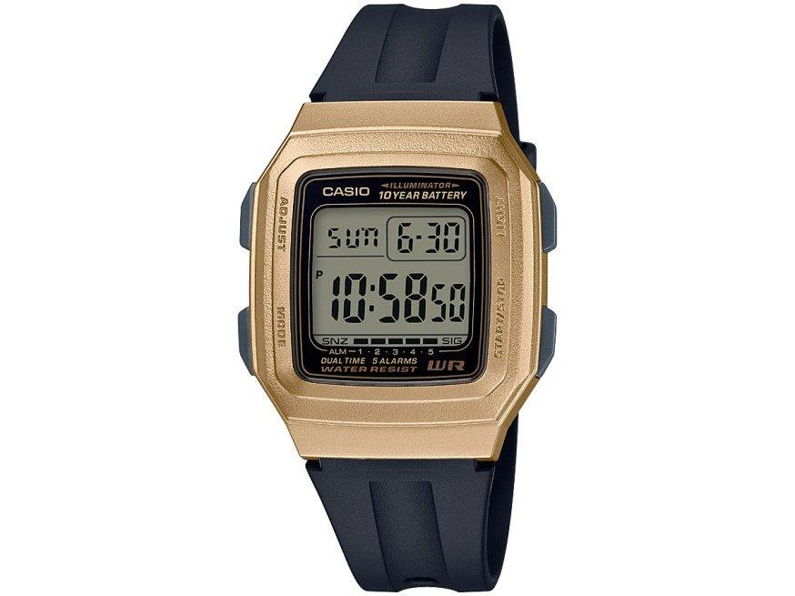 Relógio Masculino Digital Casio F-201WAM-9AVDF-SC - Preto - 1