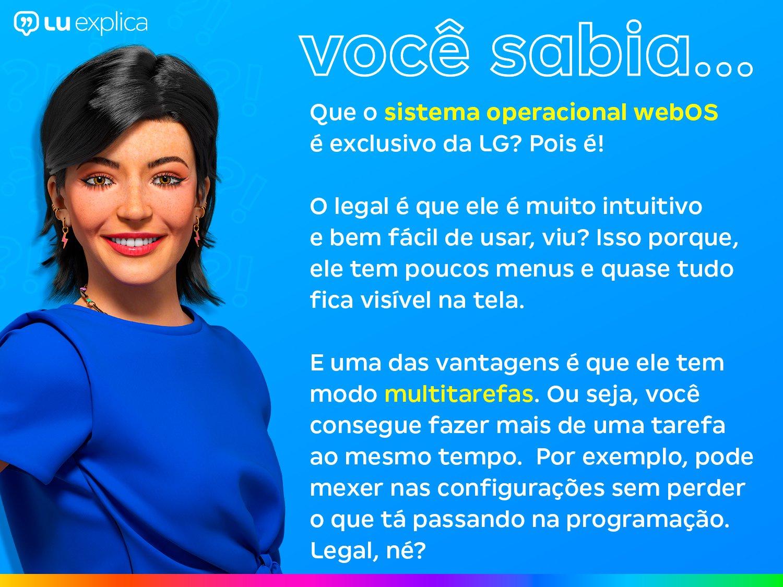"Smart TV LED 70"" UHD 4K LG 70UN7310PSC com Wi-Fi, Bluetooth, HDR, Inteligência Artificial ThinQ AI, Google Assistente, Alexa, Controle Smart Magic - 5"