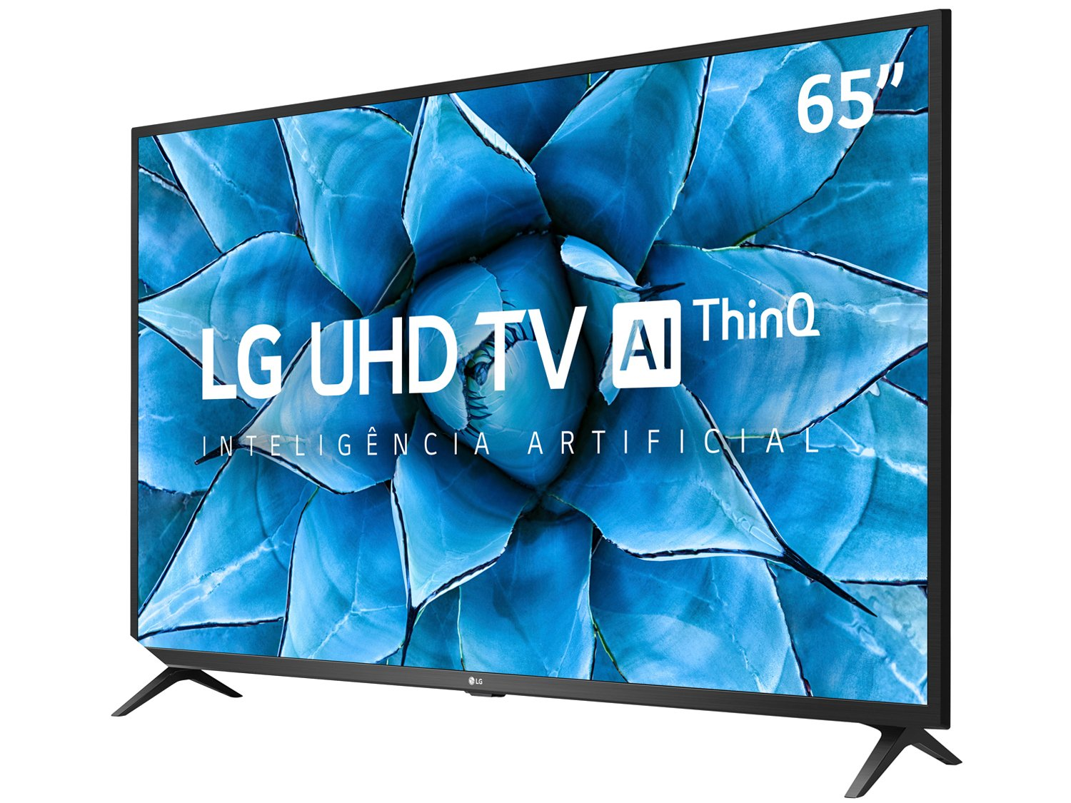 "Smart TV 4K LED IPS 65"" LG 65UN7310PSC Wi-Fi - Bluetooth HDR Inteligência Artificial 3 HDMI 2 USB - Bivolt - 2"