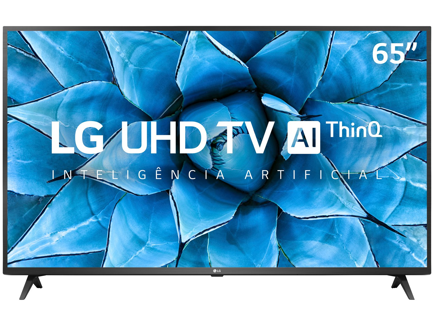 "Smart TV 4K LED IPS 65"" LG 65UN7310PSC Wi-Fi - Bluetooth HDR Inteligência Artificial 3 HDMI 2 USB - Bivolt - 4"