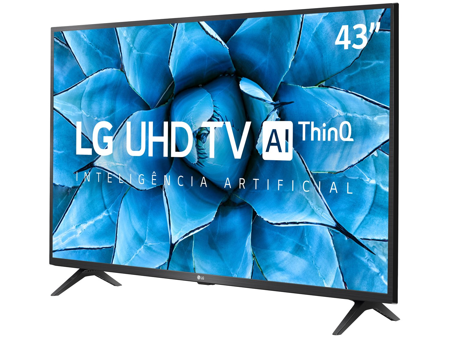 "Smart TV 4K LED IPS 43"" LG 43UN7300PSC Wi-Fi - Bluetooth Inteligência Artificial 3 HDMI 2 USB - Bivolt - 2"