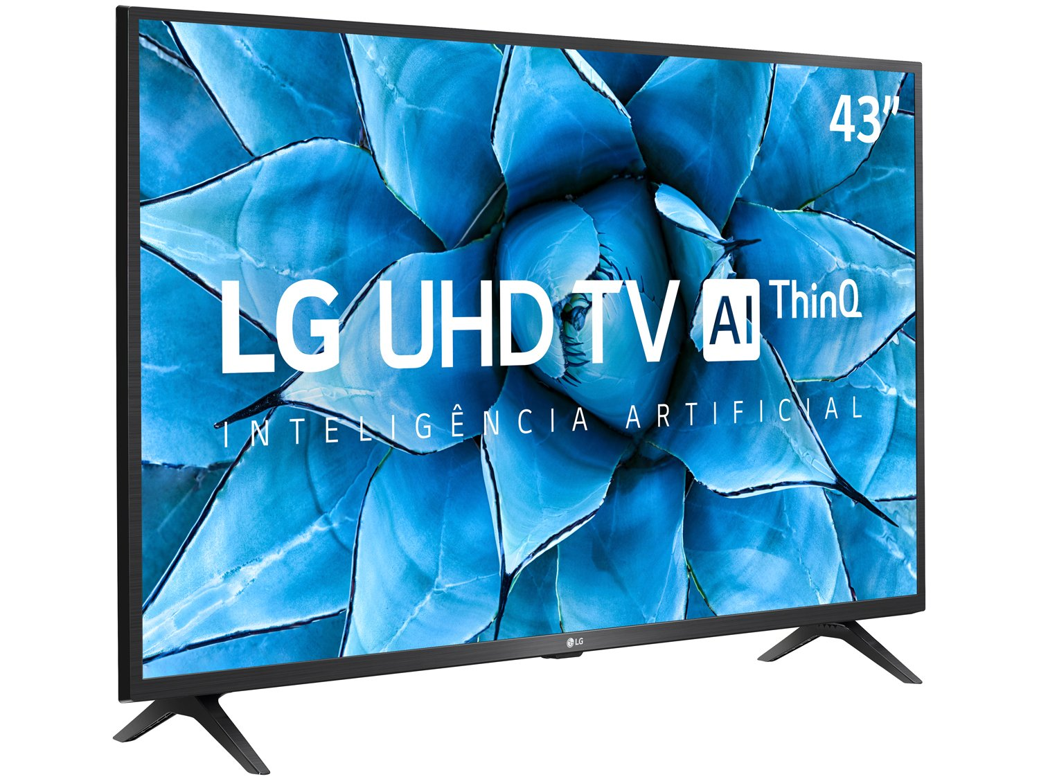"Smart TV 4K LED IPS 43"" LG 43UN7300PSC Wi-Fi - Bluetooth Inteligência Artificial 3 HDMI 2 USB - Bivolt - 4"