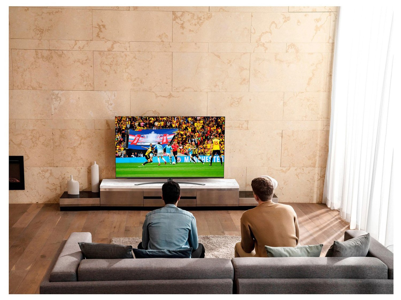 "Smart TV 4K NanoCell IPS 55"" LG 55NANO81SNA Wi-Fi - Bluetooth HDR Inteligência Artificial 4 HDMI 2 USB - Bivolt - 2"