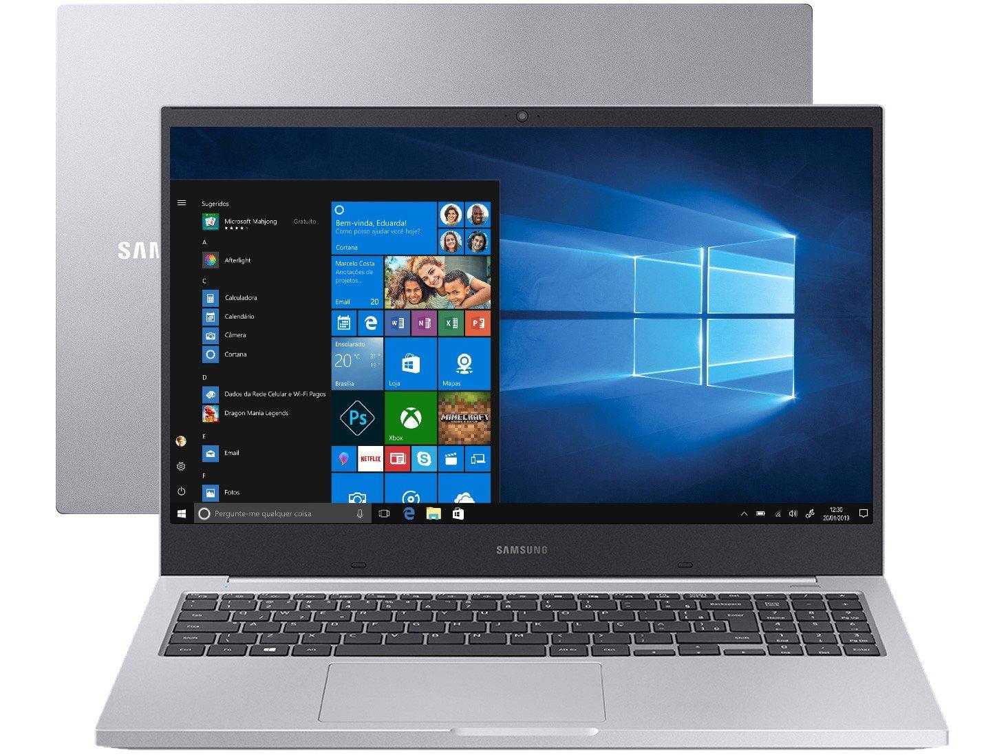 "Notebook Samsung Book X45 Intel Core i5 8GB - 256GB SSD 15,6"" Placa de Vídeo 2GB Windows 10 - Bivolt"