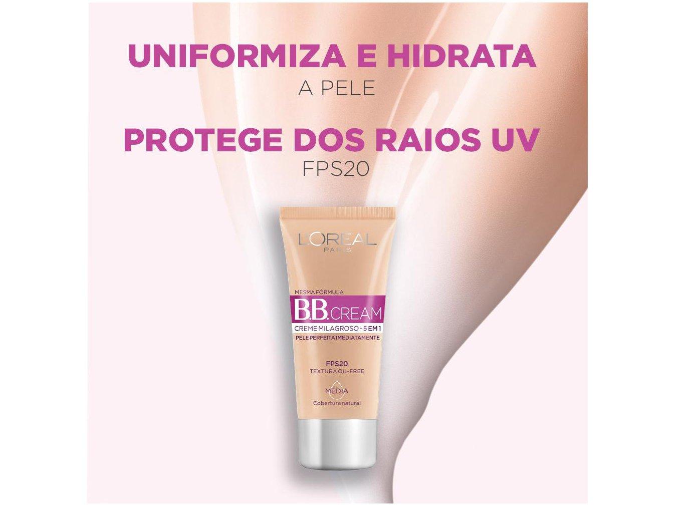 BB Cream L'Oréal Paris cor Clara FPS 20 30ml - 4