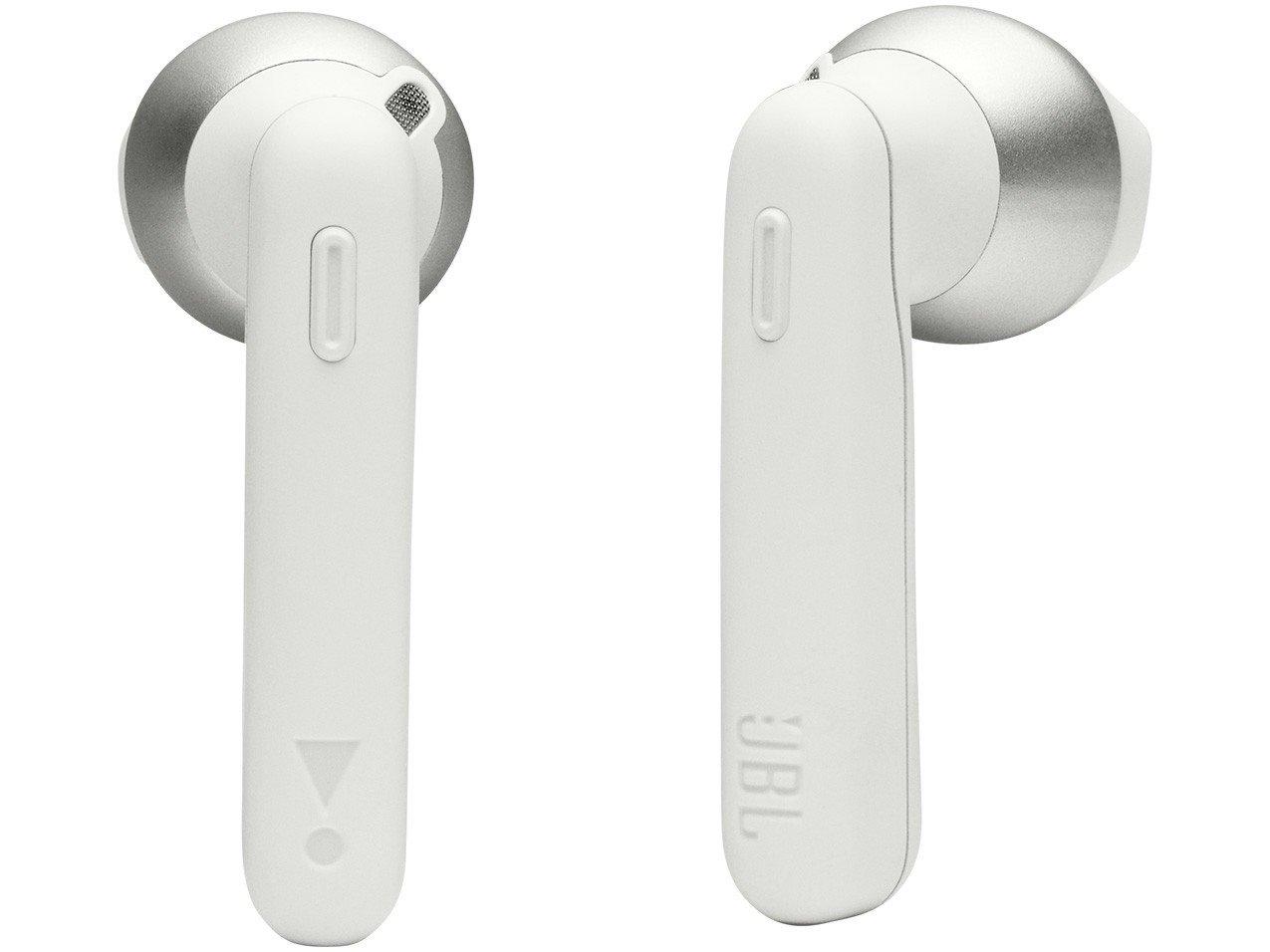 Fone de Ouvido Bluetooth JBL Tune 220TWS - True Wireless com Microfone Branco - Bivolt