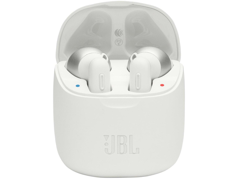 Fone de Ouvido Bluetooth JBL Tune 220TWS - True Wireless com Microfone Branco - Bivolt - 4