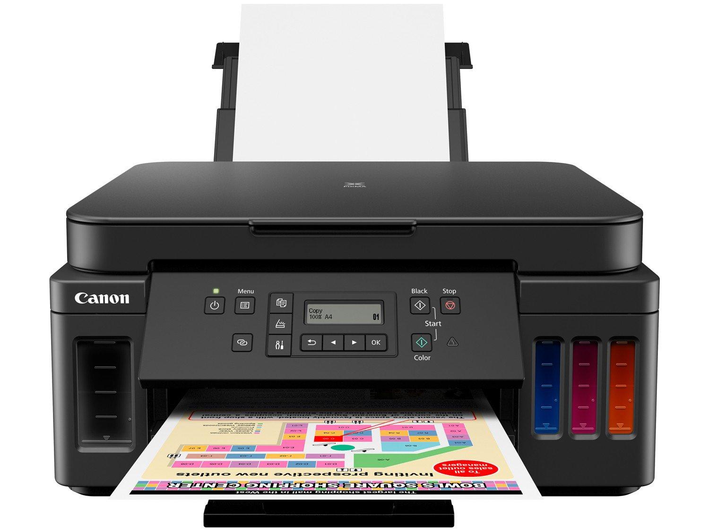 Impressora Multifuncional Canon G6010 - Tanque de Tinta Colorida Wi-Fi USB - Bivolt - 2