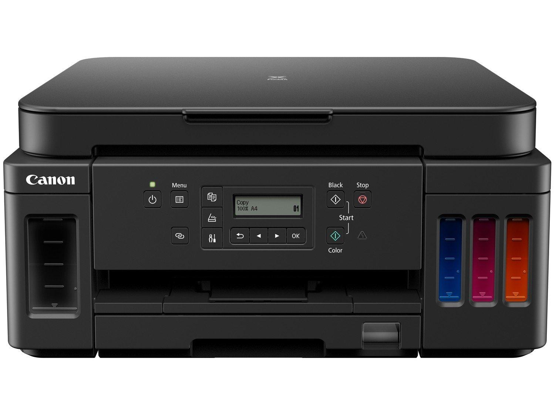 Impressora Multifuncional Canon G6010 - Tanque de Tinta Colorida Wi-Fi USB - Bivolt - 3