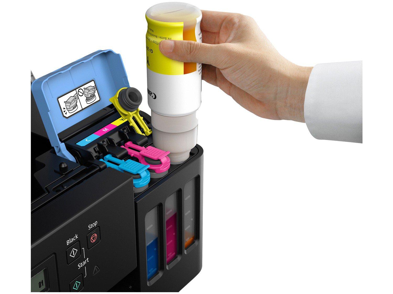 Impressora Multifuncional Canon G6010 - Tanque de Tinta Colorida Wi-Fi USB - Bivolt - 4
