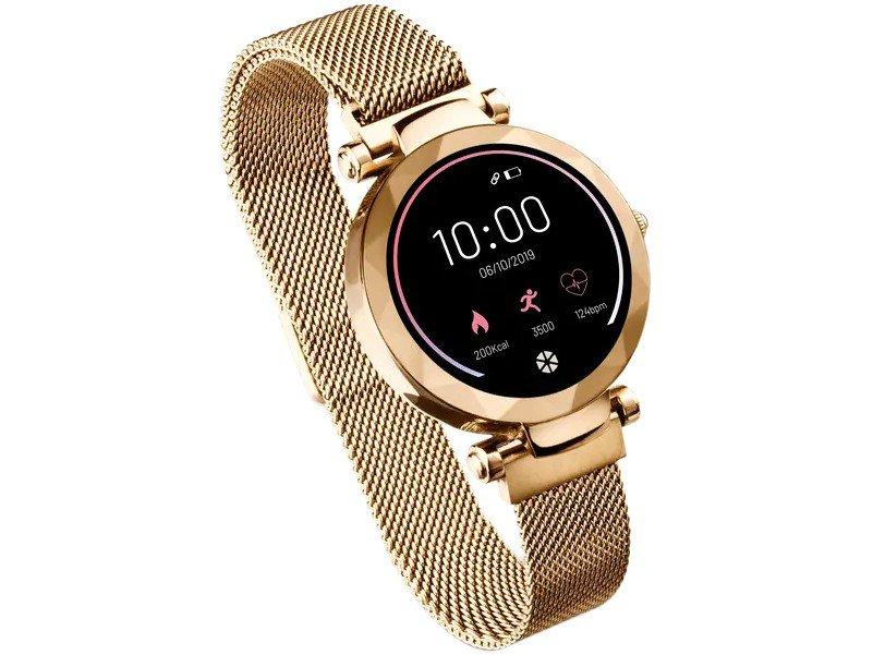 Relógio Smartwatch Atrio Dubai Android/IOS Dourado - 3