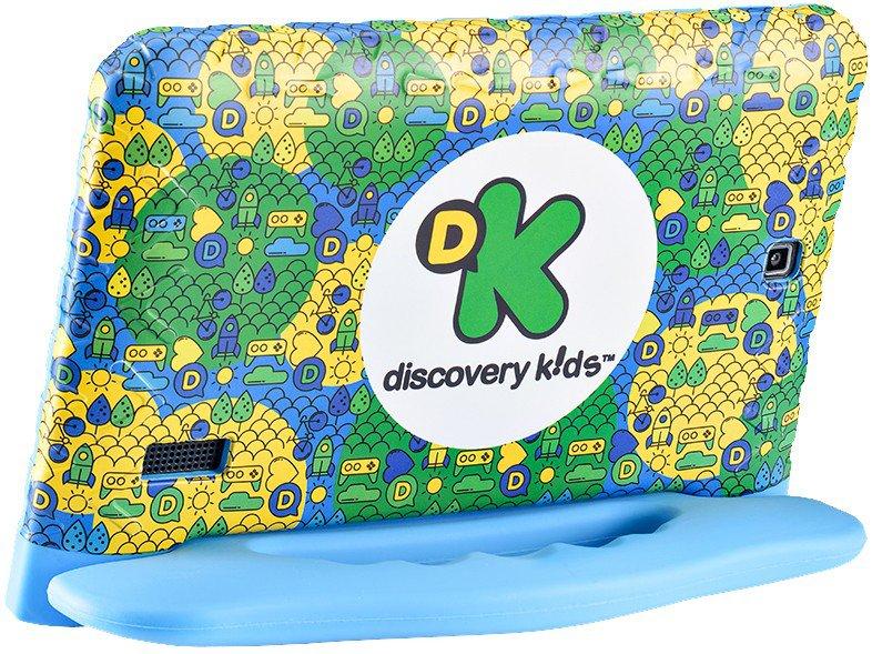 "Tablet Infantil Multilaser Discovery Kids 16GB 7"" Wi-fi Dual Câm Azul - 4"