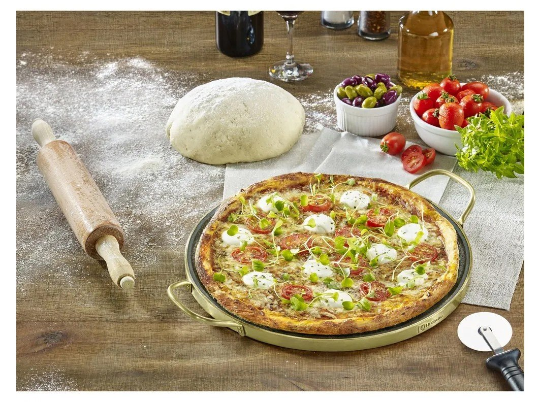 Assadeira para Pizza de Pedra Redonda - Electrolux A18884201 - 1