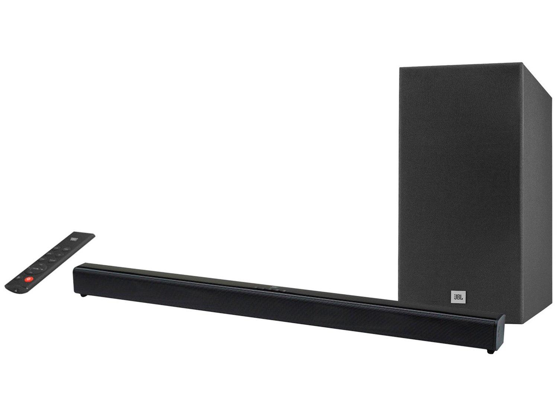 Soundbar JBL com Subwoofer Wireless Bluetooth - 220W 2.1 Canais SB160