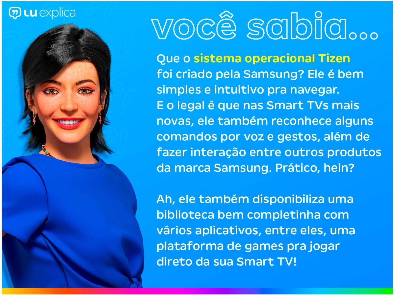 """Smart TV 4K LED 50"""" Samsung UN50TU8000GXZD - Wi-Fi Bluetooth HDR 3 HDMI 2 USB - Bivolt - 2"""