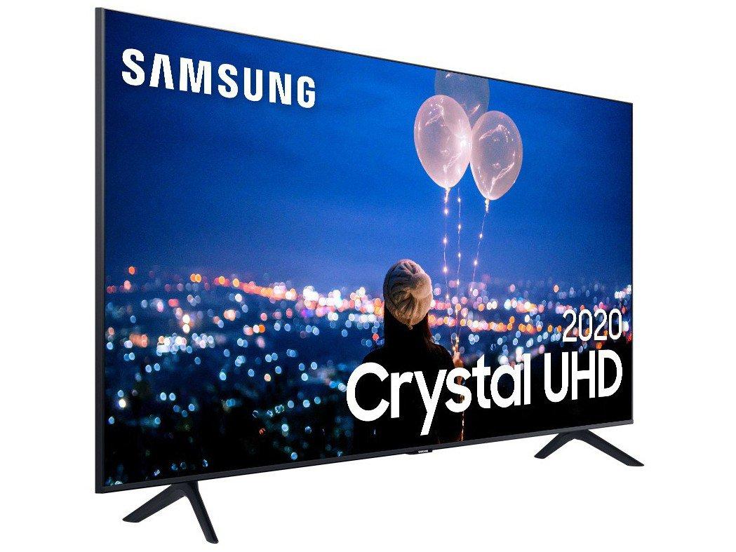 """Smart TV 4K LED 65"""" Samsung UN65TU8000GXZD - Wi-Fi Bluetooth HDR 3 HDMI 2 USB - Bivolt - 4"""