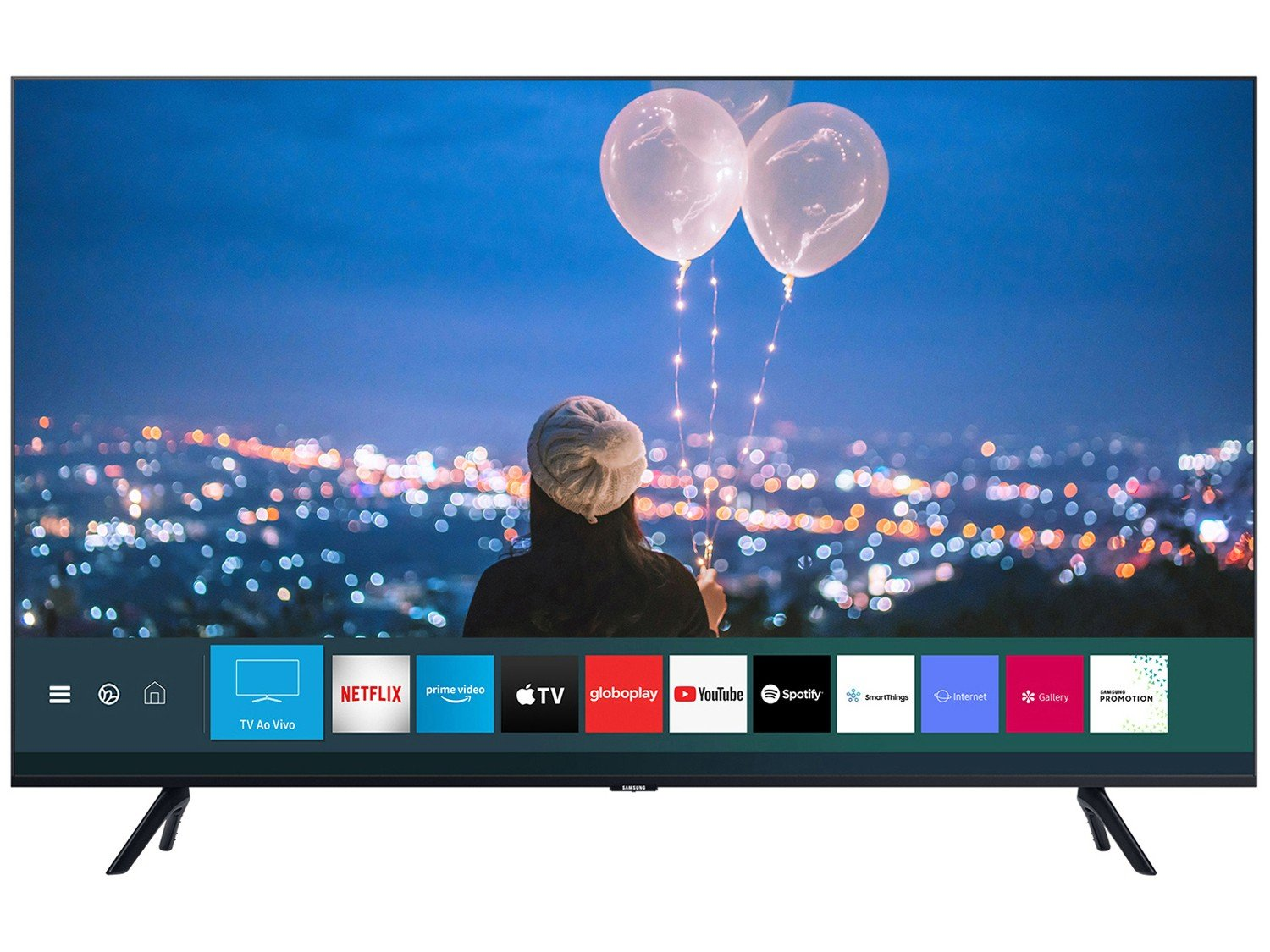"Smart TV 4K LED 75"" Samsung UN75TU8000GXZD - Wi-Fi Bluetooth HDR 3 HDMI 2 USB - Bivolt - 3"