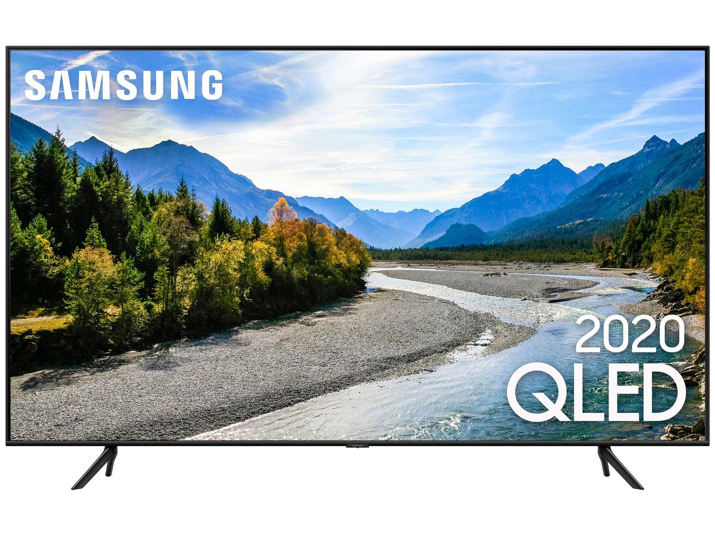 """Smart TV 4K QLED 50"""" Samsung QN50Q60TAGXZD - Wi-Fi Bluetooth HDR 3 HDMI 2 USB - Bivolt - 3"""