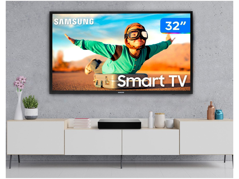 """Smart TV LED 32"""" Samsung UN32T4300AGXZD - Wi-Fi HDR 2 HDMI 1 USB - Bivolt - 2"""