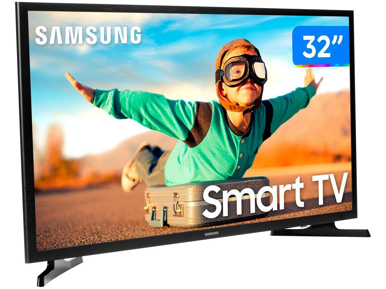 """Smart TV LED 32"""" Samsung UN32T4300AGXZD - Wi-Fi HDR 2 HDMI 1 USB - Bivolt - 4"""