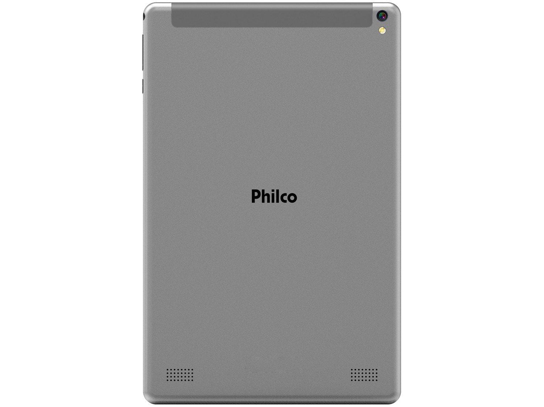 "Tablet Philco PTB10RSG 10"" 3G Wi-Fi 32GB - Android 9 Quad Core Câm. 5MP - 3"