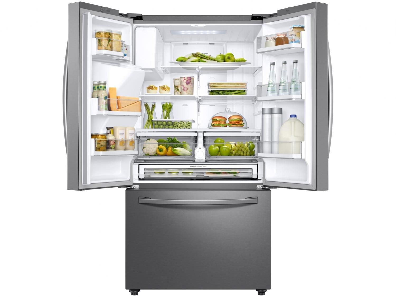 Refrigerador Samsung French Door RF23R com Tecnologia Twin Cooling Plus Inox - 536L - 110v - 15