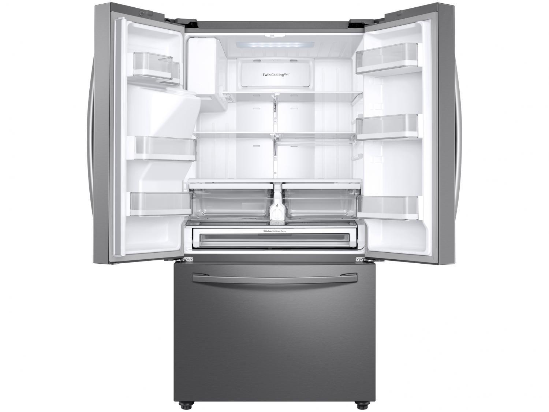 Refrigerador Samsung French Door RF23R com Tecnologia Twin Cooling Plus Inox - 536L - 110v - 16