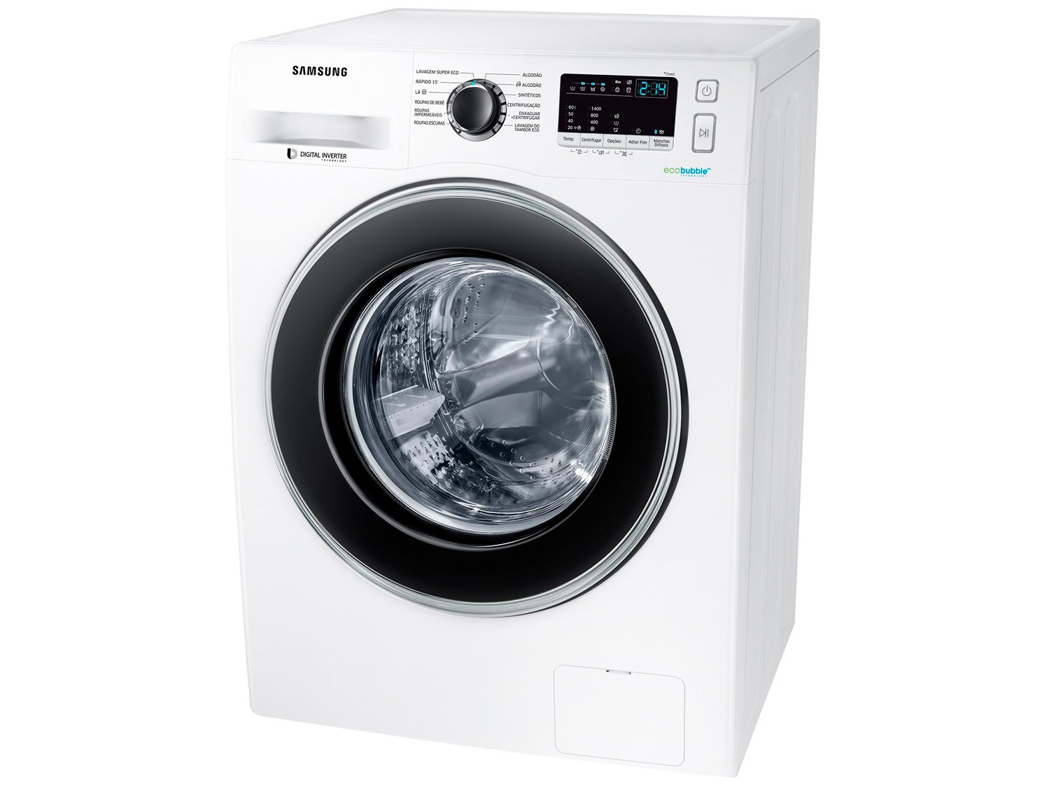Lavadora de Roupas Samsung WW4000 WW11J4453JW/AZ - 11Kg Cesto Inox 12 Programas de Lavagem - 110 V - 3