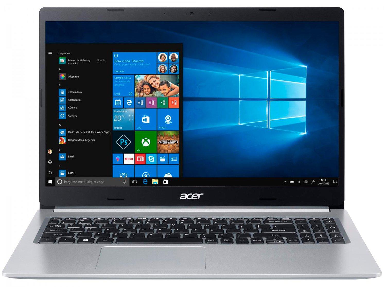 "Notebook Acer Aspire 5 A515-54G-53GP Intel Core i5 - 8GB 256GB SSD 15,6"" Placa NVIDIA 2GB Windows 10 - Bivolt - 3"