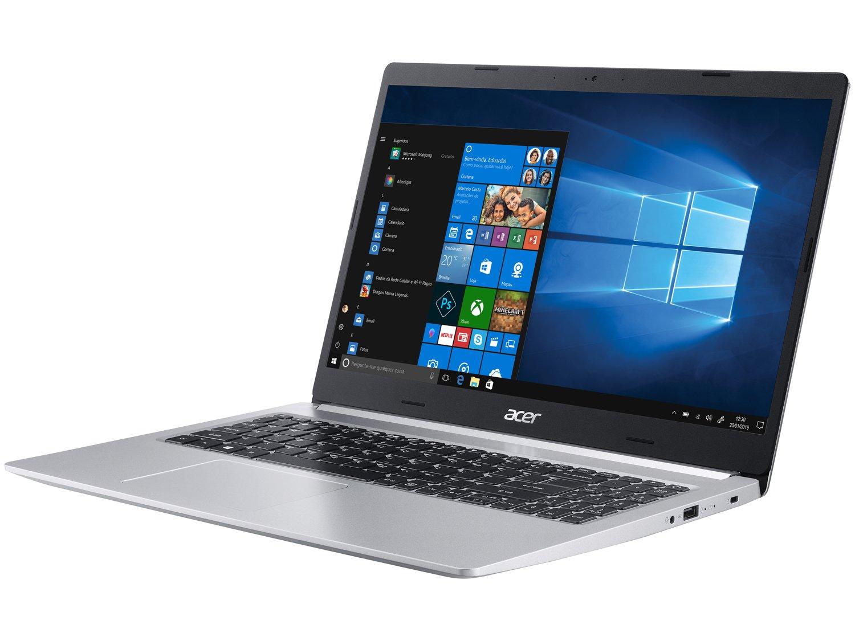 """Notebook Acer Aspire 5 A515-54-587L Intel Core i5 - Quad-Core 8GB 256GB SSD 15,6"""" Windows 10 - Bivolt - 2"""