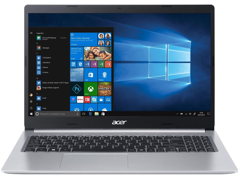 """Notebook Acer Aspire 5 A515-54-587L Intel Core i5 - Quad-Core 8GB 256GB SSD 15,6"""" Windows 10 - Bivolt - 3"""