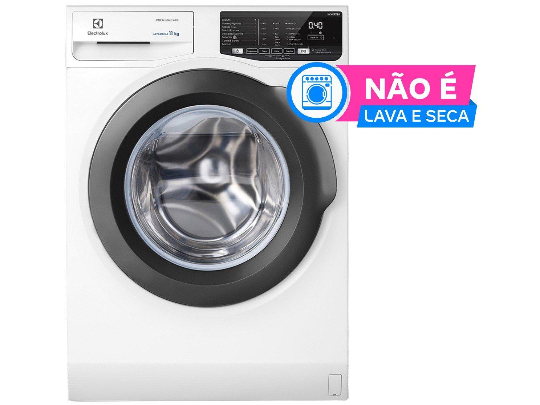 Lavadora de Roupas Electrolux Premium Care LFE11 - 11kg Cesto Inox 8 Programas de Lavagem - 220 V - 1