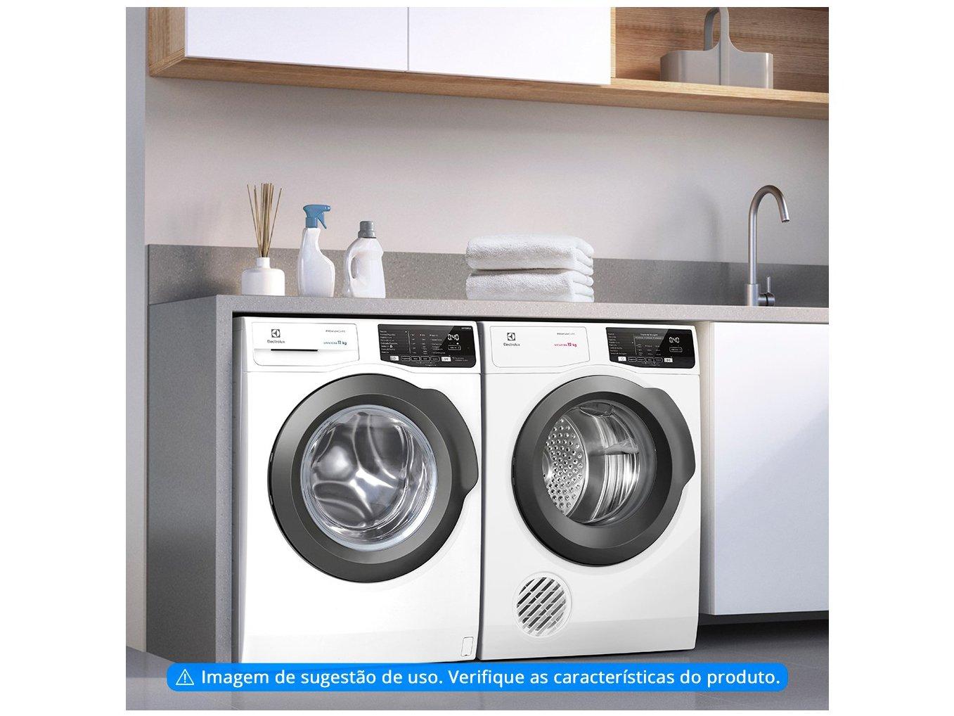 Lavadora de Roupas Electrolux Premium Care LFE11 - 11kg Cesto Inox 8 Programas de Lavagem - 220 V - 3
