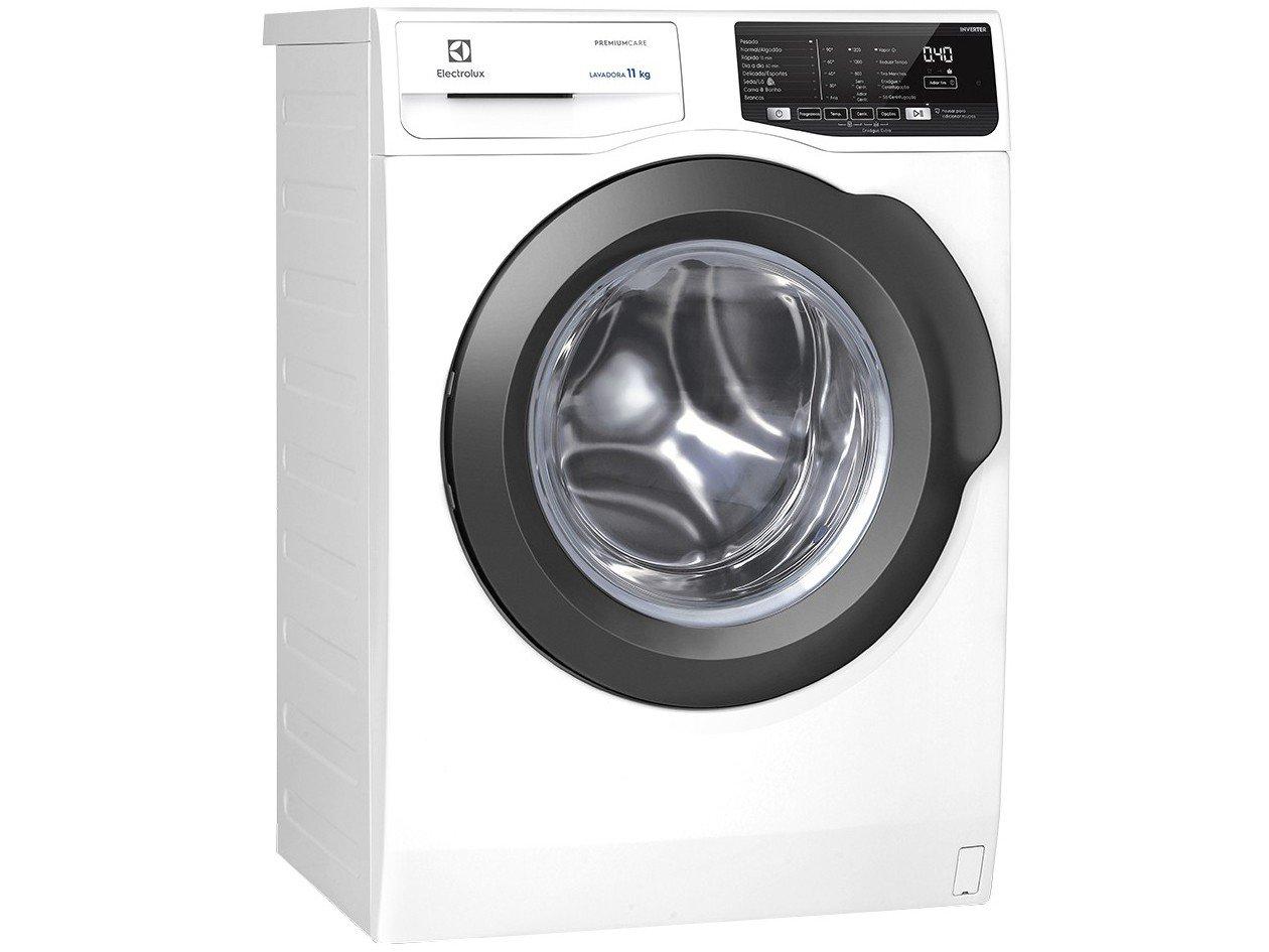 Lavadora de Roupas Electrolux Premium Care LFE11 - 11kg Cesto Inox 8 Programas de Lavagem - 220 V - 4