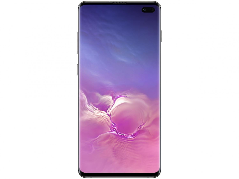 "Smartphone Samsung Galaxy S10+ 128GB Ceramic Black - Octa-Core 8GB RAM 6,4"" Câm. Tripla + Selfie Dupla - Bivolt - 4"