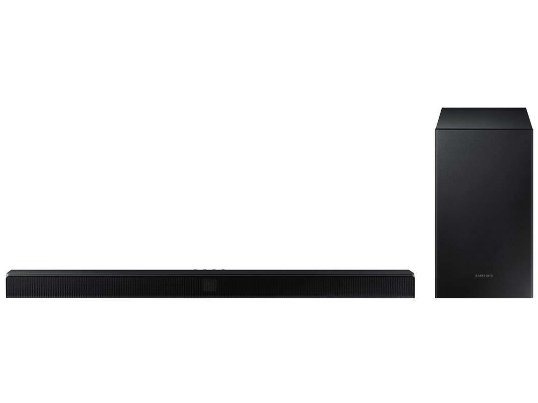 Soundbar Samsung com Subwoofer Wireless Bluetooth - 320W 2.1 Canais HW-T550/ZD - 3