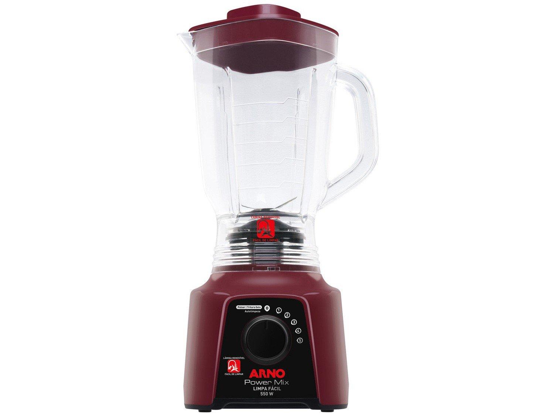 Liquidificador Arno Power Mix Limpa Fácil LQ32 com 5 Velocidades 550W – Vinho - 110V - 3
