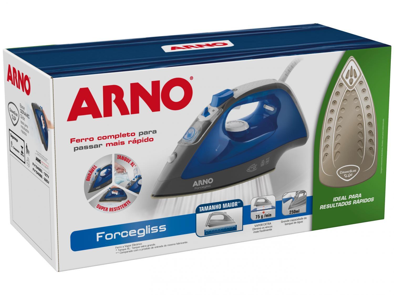 Ferro de Passar a Vapor Arno Forcegliss FFC1 com Spray – Azul - 220V - 12