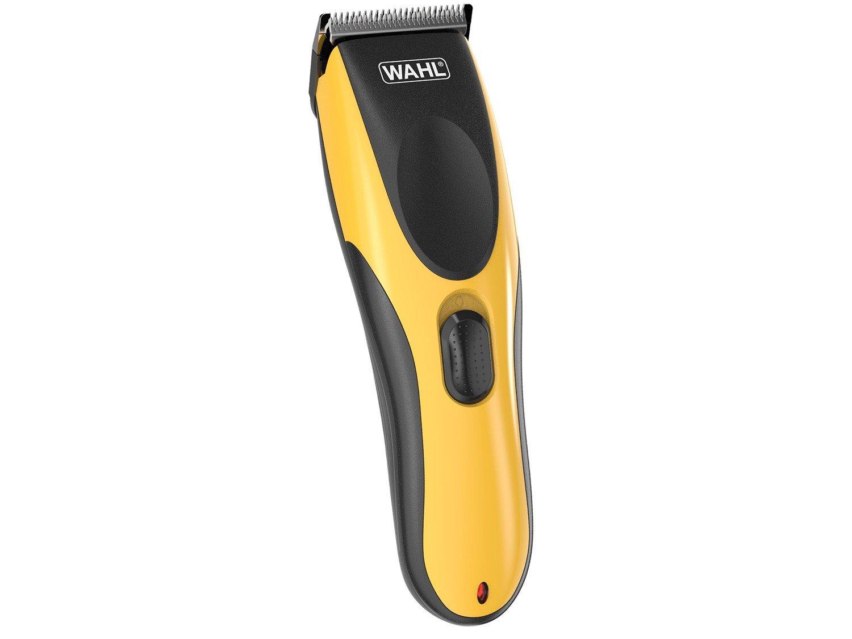 Máquina de Cortar Cabelo Wahl Clipper sem Fio - HairCut & Beard DIY 10 Níveis de Altura - Bivolt